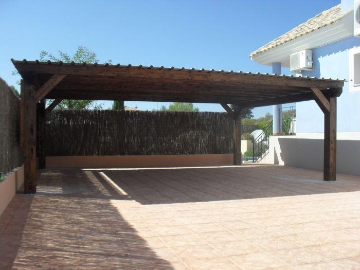 Double Carport - Calasparra, Murcia 18 Apr 2012
