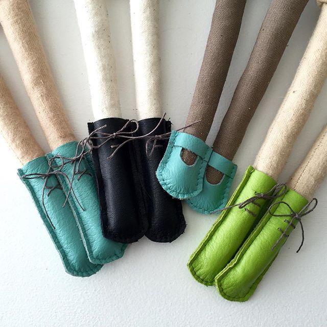 Done! Which ones do you like best? #dollshoes #nurserydecor #etsykids