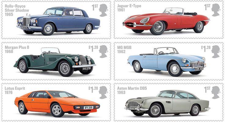 COLLECTORZPEDIA: UK Stamps British Auto Legends