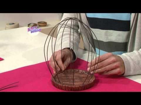 Andrés Blanco - Bienvenidas en HD - Hace una jaula decorativa.