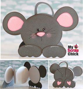 Dulce ratón libro: pincha para ampliar