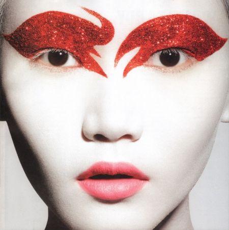 On Make-Up Magazine, Fall 2010. Make-up by Ralph Siciliano.