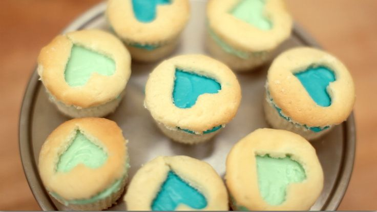Flip your cupcake recipe inside out by putting the icing in the middle.