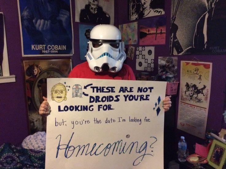 Star Wars homecoming proposal