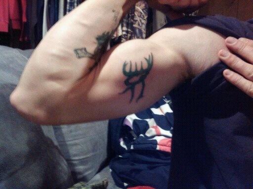 camo buck commander tattoo