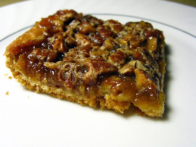Pecan Pie Bars (can use pie crust too) | Food | Pinterest