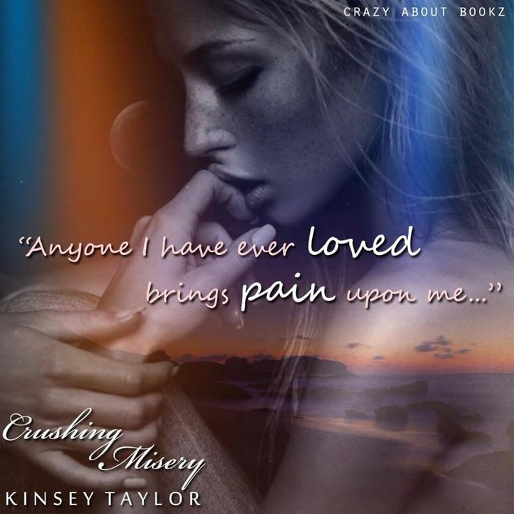Amazing beautiful teaser by Crazy about Bookz. I love this so much!! Crushing Misery by Kinsey Taylor