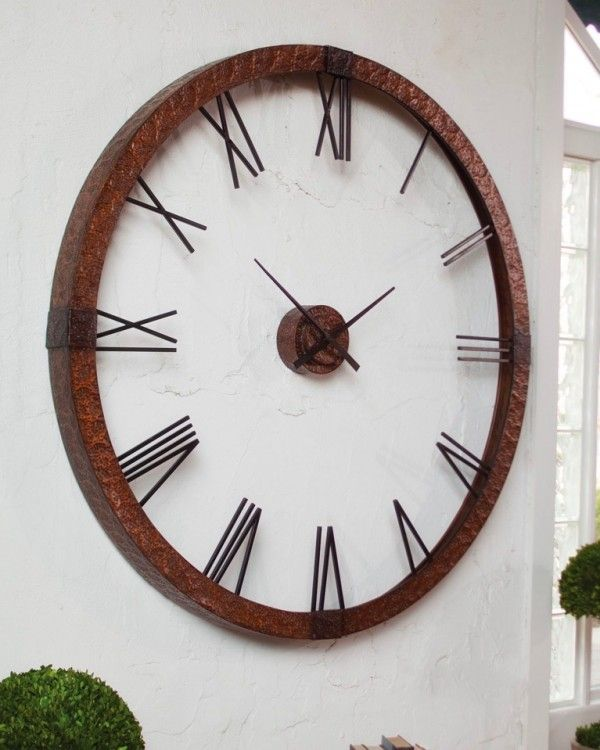 1000 Ideas About Extra Large Wall Clock On Pinterest