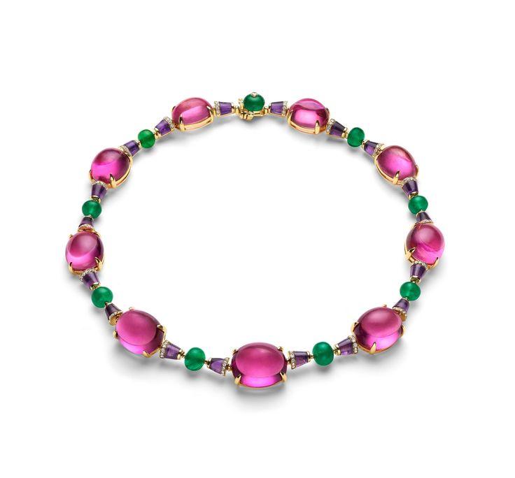 Bulgari tourmaline necklace.