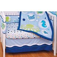 "Blue isn't just for boys - try an ""Under The Sea"" #nursery theme"