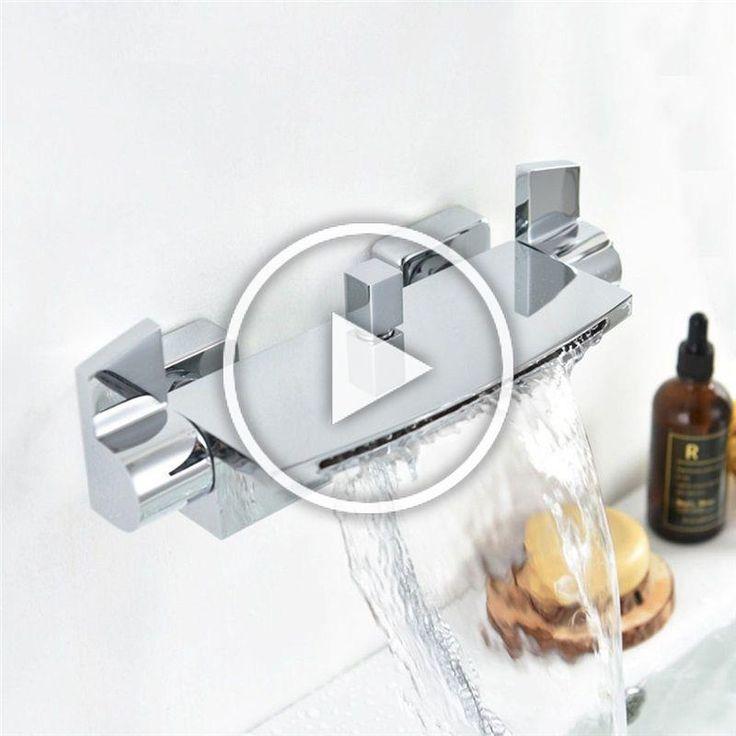 Modern Chrome Shower Thermostat Special Shower Diverter