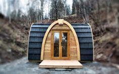 Iglús de madera en Suiza