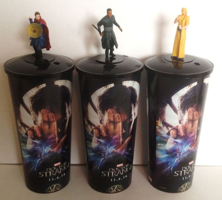 Marvel Comics: Doctor Strange Movie Theater Exclusive Cup Topper Set #2  | eBay