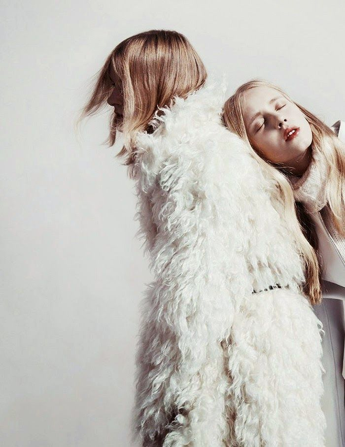 fur coat #style #fashion