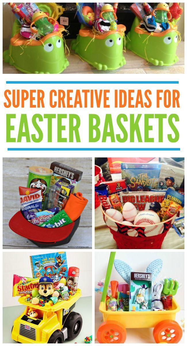 11 Creative Easter Basket Ideas
