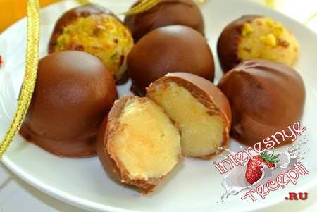 Шоколадно-миндальные конфеты «День»