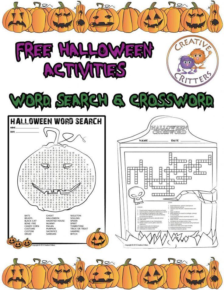 Freebie - Halloween Activities