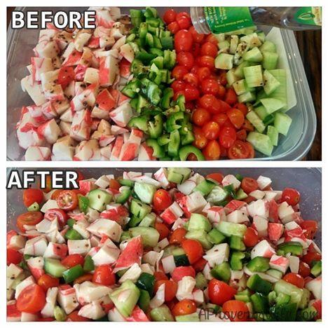Crab Salad Recipe - A Proverbs Wife