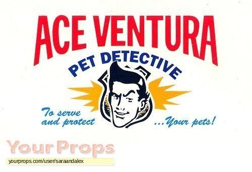 Ace Ventura  Pet Detective replica production material