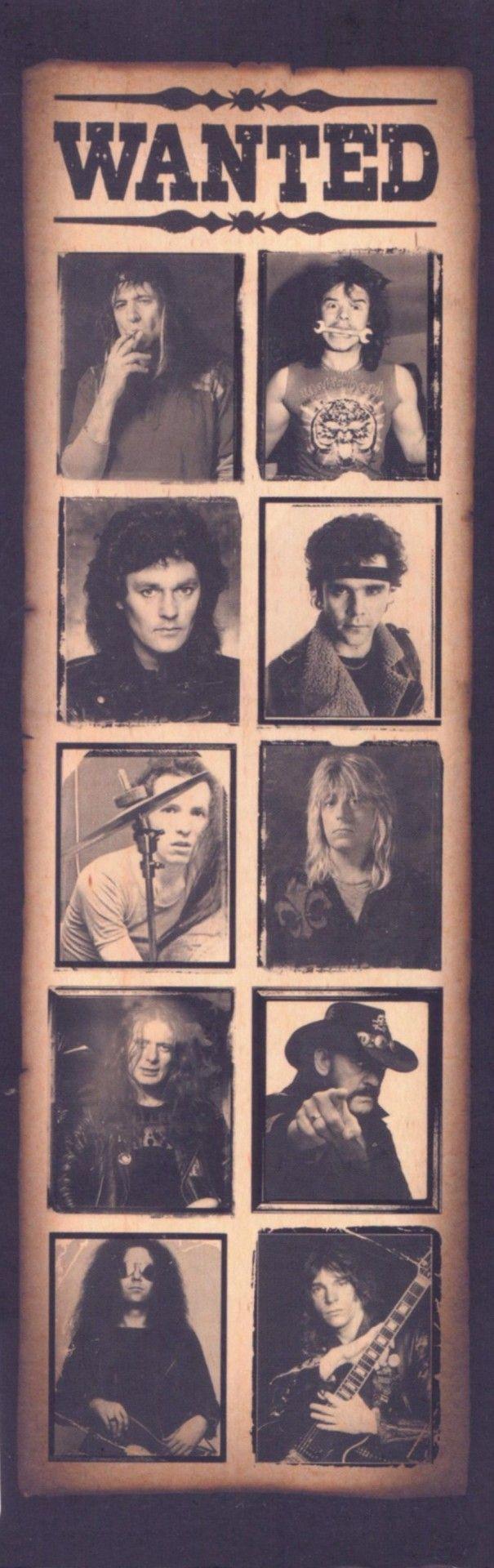 Motorhead band members