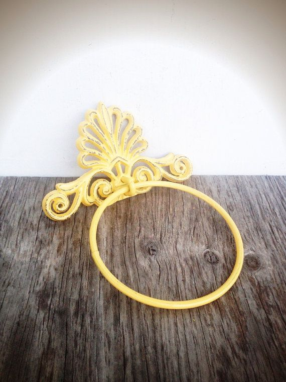 BOLD golden sumer squash yellow ornate shell bathroom by BOLDHOUSE, $14.00
