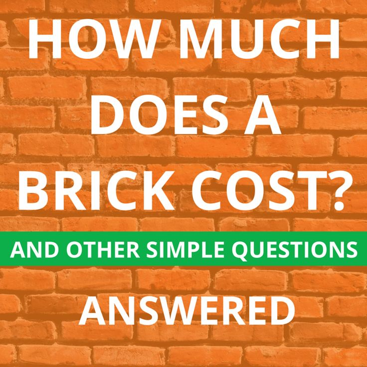 How much does it cost to install brick pavers 28 for Brick house cost to build