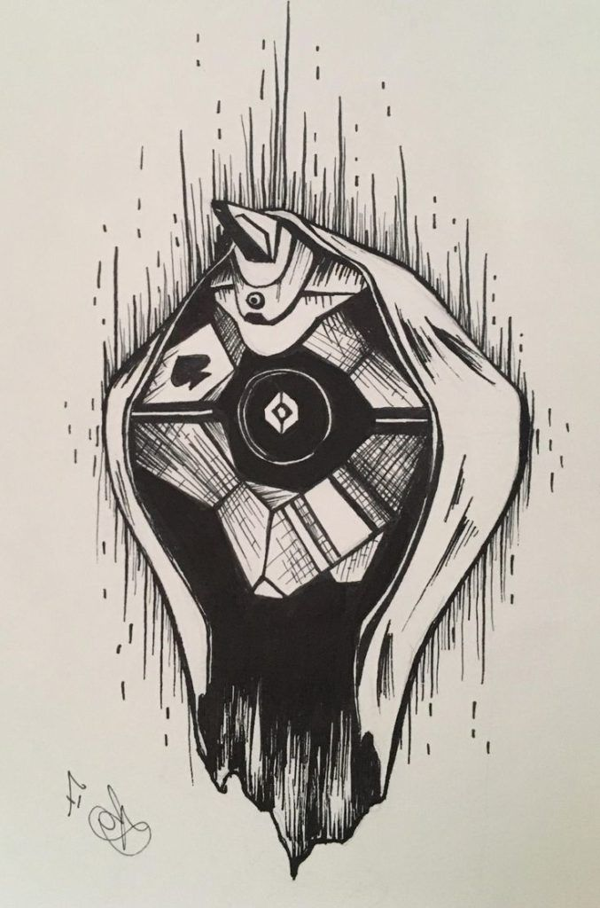 Top Destiny Ghost Drawing Easy Images Ghost Drawing Easy Easy