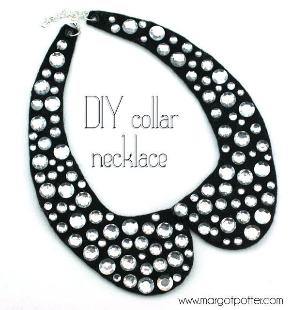DIY Wire Necklace : How-to Make a DIY Collar Necklace