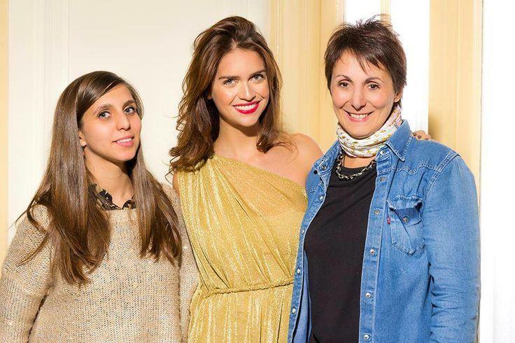Ultima foto con Zaira, Paloma Ioli y Vivi Seijas