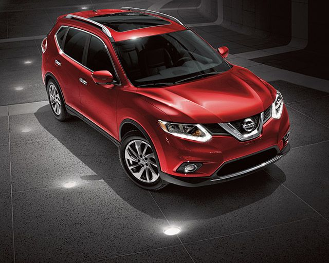 My future car - 2016 Nissan Rogue Crossover in shown in Cayenne Red