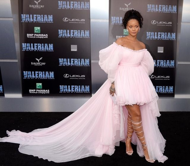"Rihanna ""Valerian"" Movie Premier