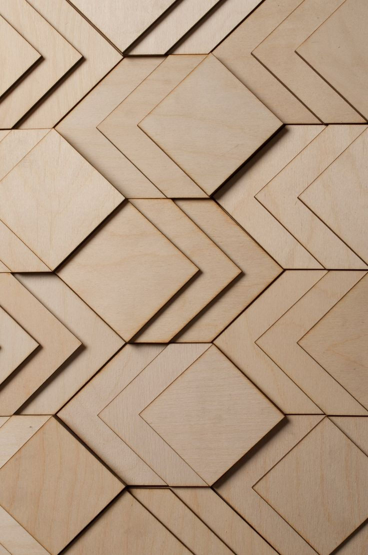3D layered wooden surfaces / Atelier Anthony Roussel