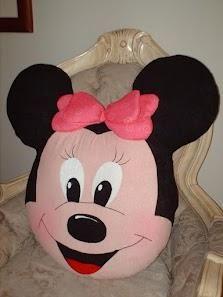 Cojín Minnie Mouse | Aprender manualidades es facilisimo.com