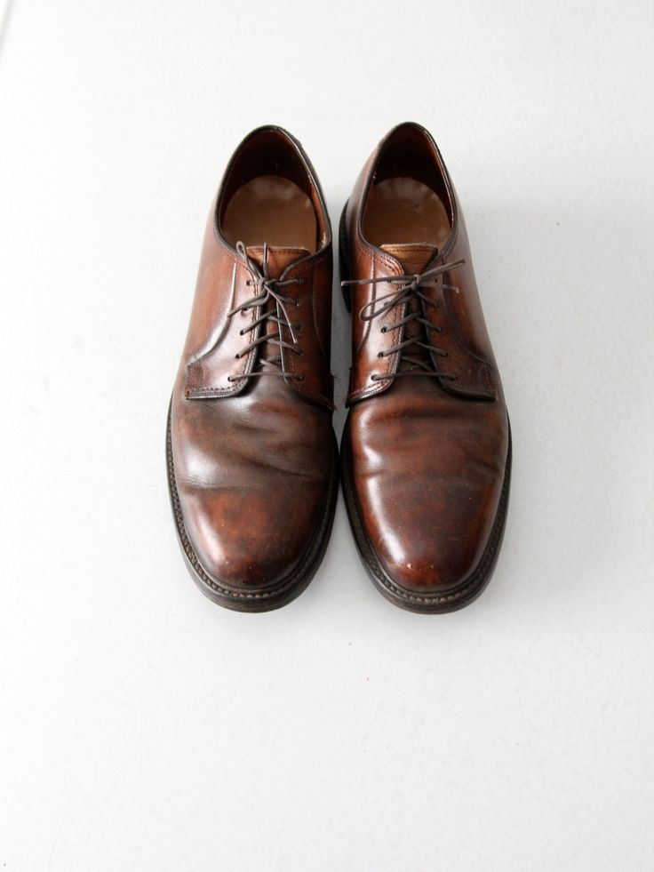 vintage Lloyd and Haig leather oxford shoes, men's size 10.5