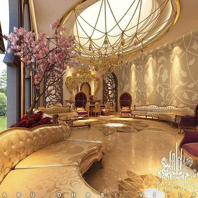 نصمم المجالس النسائيه لتعكس ذوق و رقي السيده الامارتيه احجزي تصميمكي الان بالاتصال بنا دبي ابوظبي Opulent Interiors Luxury Homes Interior Luxury Living Room