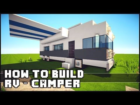 How To Build a RV / Camper   Tutorial   Minecraft Building Inc