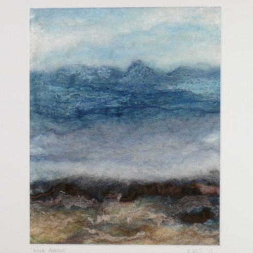 wet felted picture - just stunning!