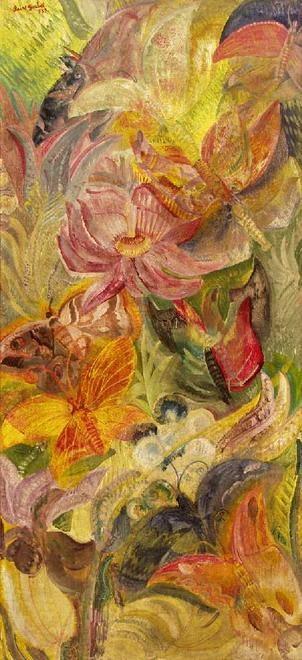 Jeno Paizs Goebel | Paizs-Goebel, Jenő - Butterflies (In a native forest) - Surrealism ...