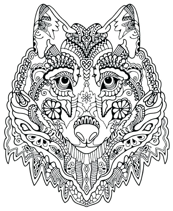 Wolf Coloring Pages For Adults - Best Coloring Pages For Kids Mandala Coloring  Pages, Zoo Animal Coloring Pages, Animal Coloring Pages
