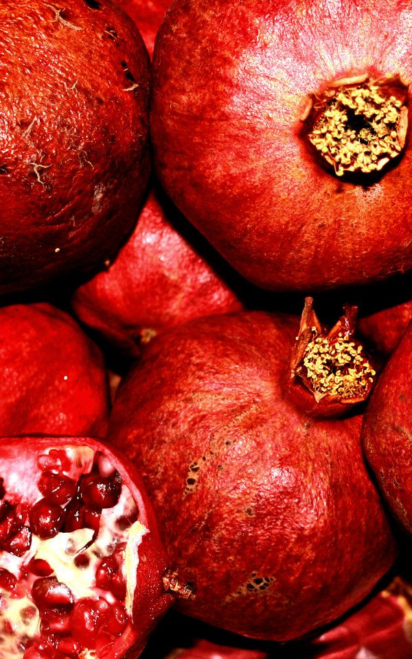 Granatapfel - unendlicher Genuss in jeder Perle.