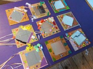 Workshop voor kinderen: spiegels versieren