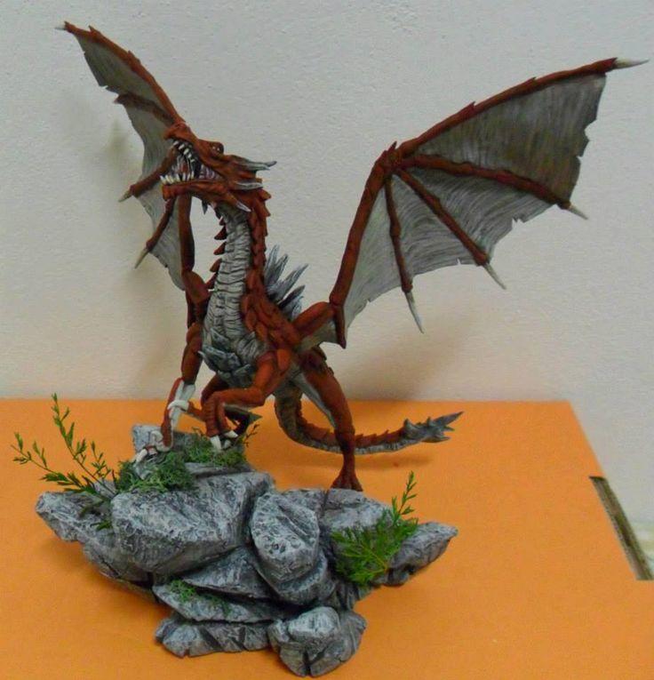 """Creature """"Piccole""""... Primo drago realizzato!!"""