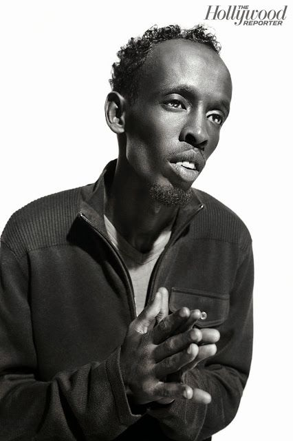 Smartologie: Tom Hanks & Barkhad Abdi for The Hollywood Reporter October 2013
