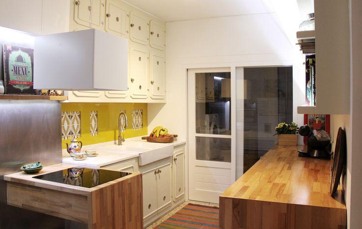 Eklektyczna kuchnia. Rustykalna kuchnia. Piekne kuchnie. Aranżacje kuchni zobacz więcej na: https://www.homify.pl/katalogi-inspiracji/37773/wystroj-kuchni-inspirujace-aranzacje