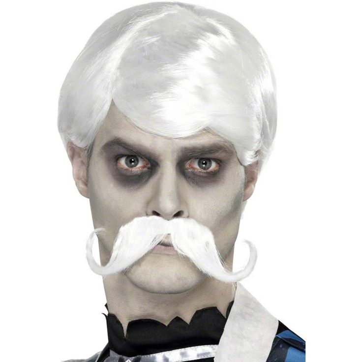 Amazon.com: Smiffy's Men's Ghost Town Bar Keeper Wig And