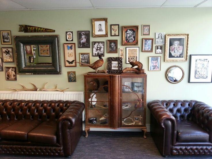 Tattoo Shop Design Ideas: 63 Best Images About Tattoo Shop Decoration On Pinterest