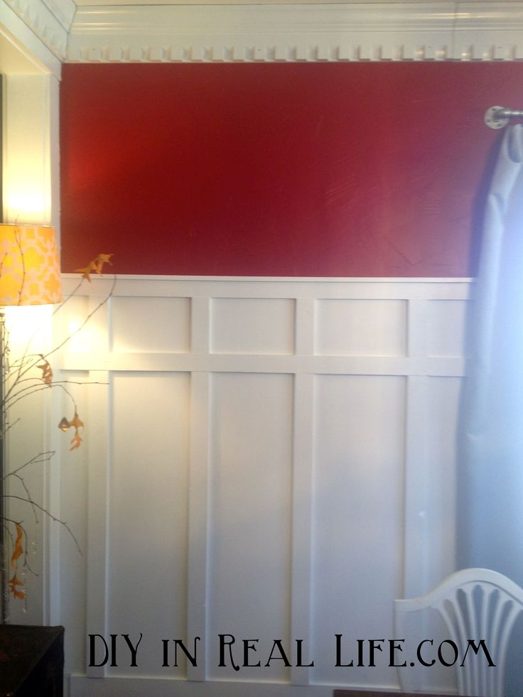 Diy In Real Life Com How To Install Batten Walls Over