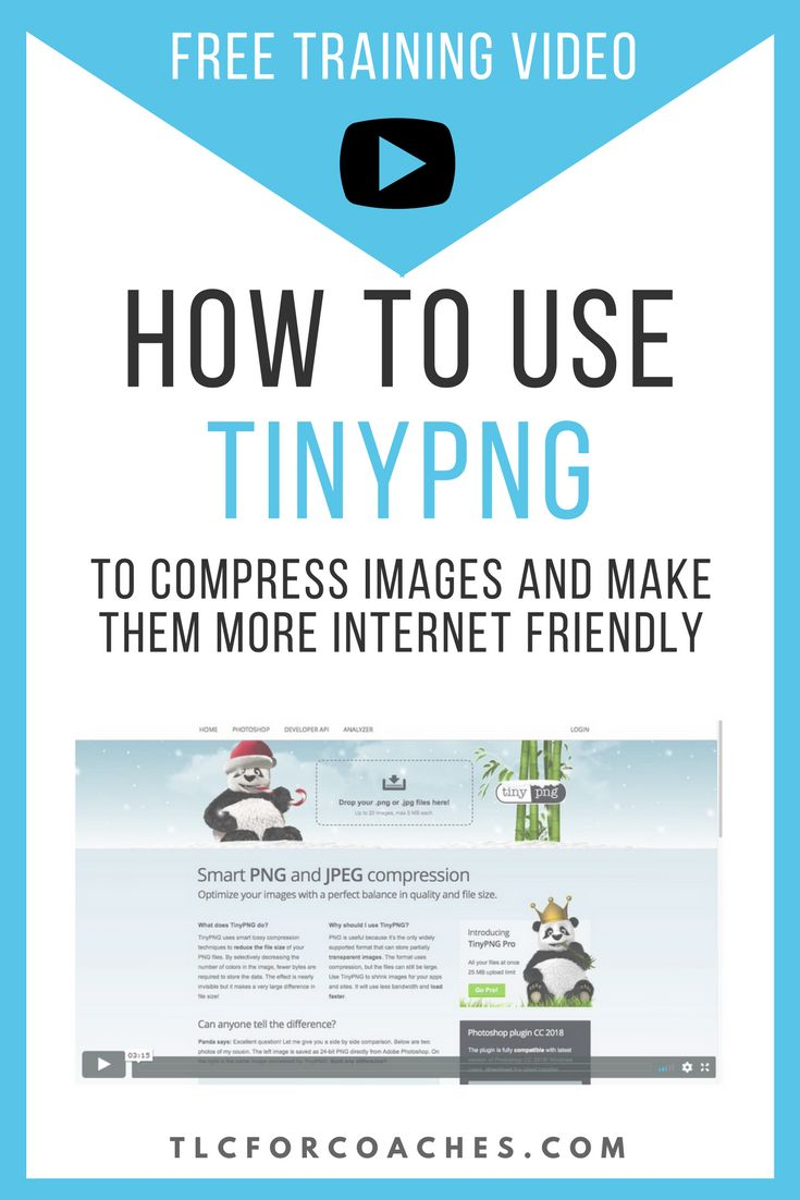 TinyPNG is a wonderful online compression tool that lets you optimize your images for the web. Compressed images will help make your website load faster. #tinypng #graphics #compression #tools #freebies #onlinetools #png #jpg #gif via @tlcforcoaches