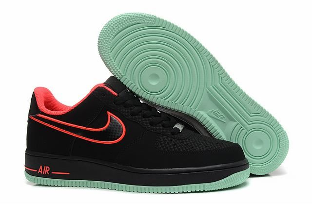 nike air force 1 low noir homme