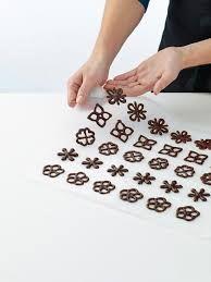 decoraciones de chocolate - Buscar con Google